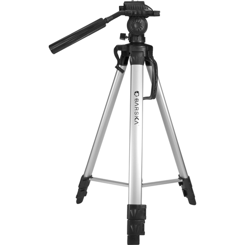 "Deluxe Tripod, Extendable to 63.4"",Carry"