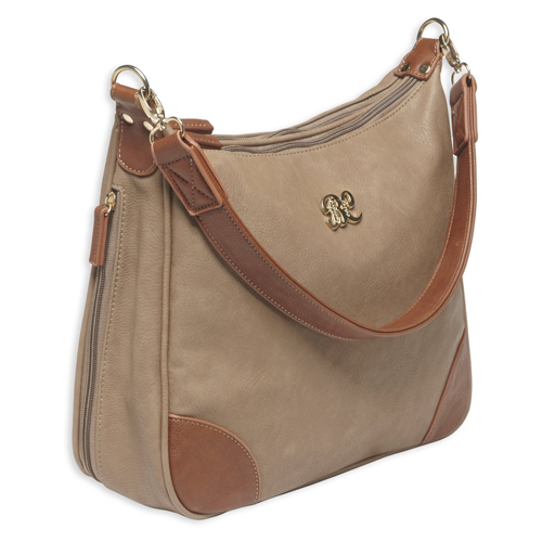 Hobo Style Purse w/Holster Taupe/Tan