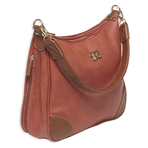 Hobo Style Purse w/Holster Brick Red/Tan