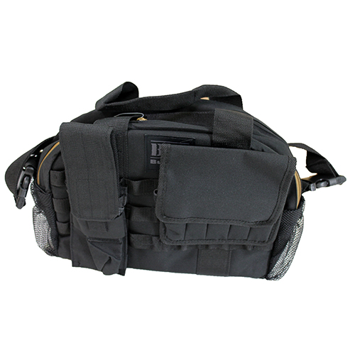 Tactical RangeBag w/MOLLE Mag Pouches Blk