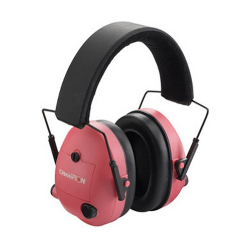 Electronic Ear Muffs, Pink