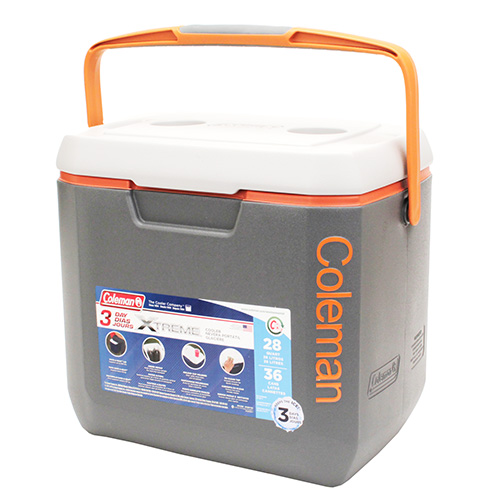 Cooler 28qt Dgry/org/lgry Omld 5878