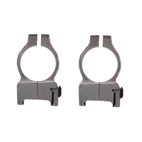 Z-2 Alloy Scope Rings - High (Silver)