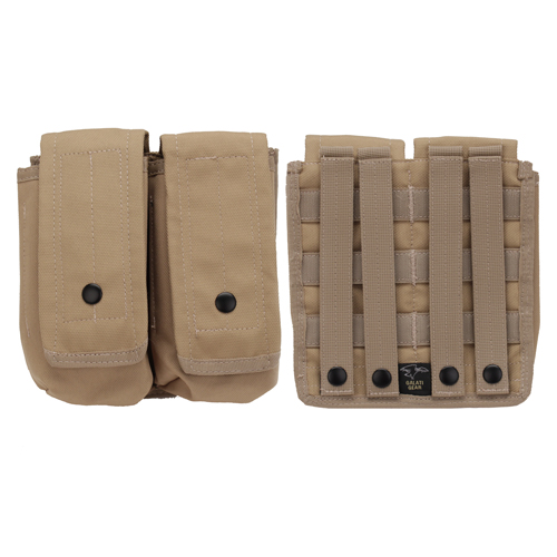 MOLLE AR15/AK Double 30 rd Mag Pouch Tan