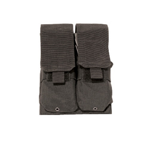 MOLLE Rifle Double Mag Pouch M-4 Blk