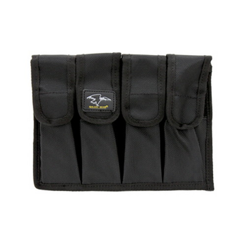 Quad Pack Mag Pouch with Velcro and Molle