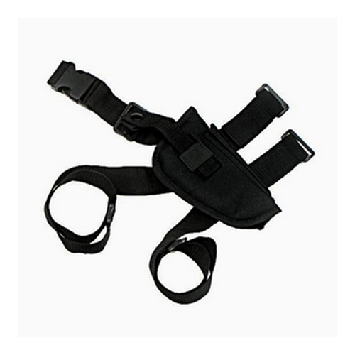 Tactical Style Leg Holster Lrg Black