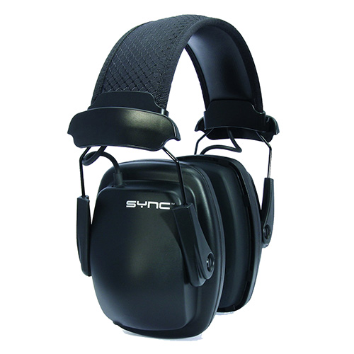 Sync stereo earmuff in retail pack