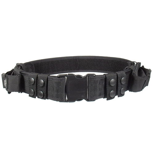 UTG Heavy Duty Elite Pistol Belt, Black