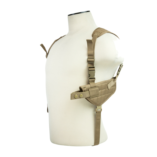Vism Ambi Horizontal Shoulder Holster/Tan