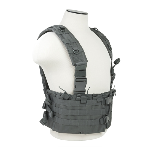 Vism By Ncstar Ar Chest Rig/Urban Gray