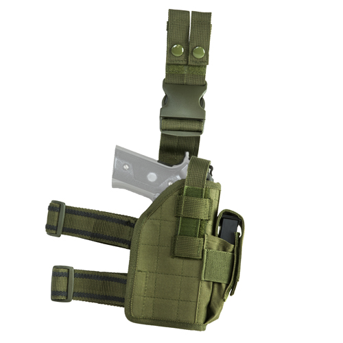 Vism Drop Leg Universal Holster - Green