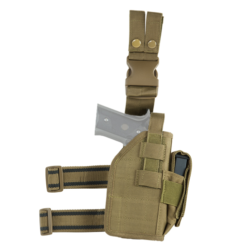 Vism Drop Leg Universal Holster - Tan