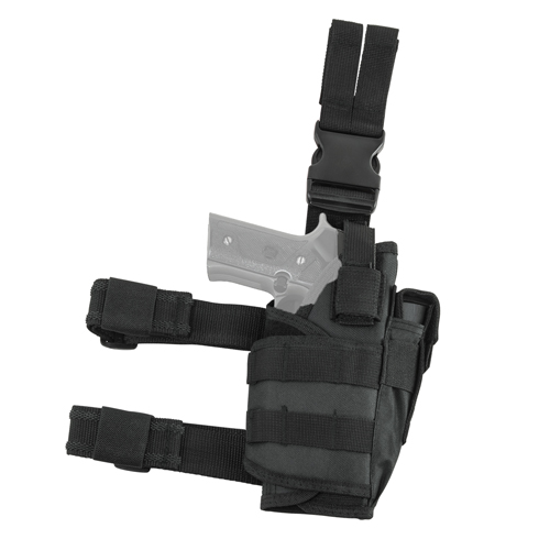 Vism Drop Leg Tactical Holster - Black