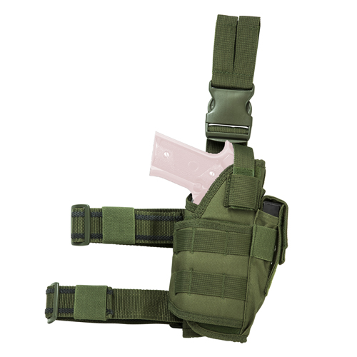 Vism Drop Leg Tactical Holster - Green