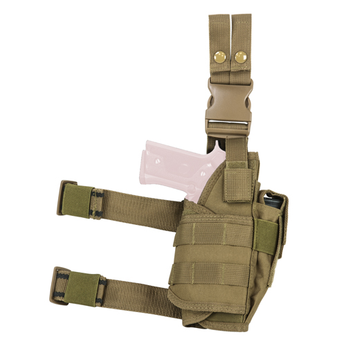 Vism Drop Leg Tactical Holster - Tan