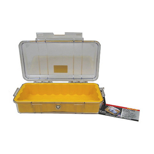1060 Micro Case, Clear Top Yellow