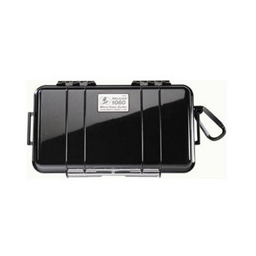 1060, Micro Case, with Black Lid, Black