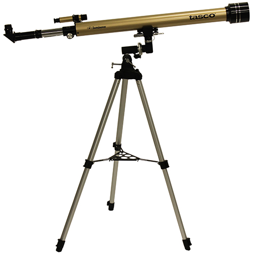 60X900Mm Gold Refractor, 675X Mag,6X24 FS